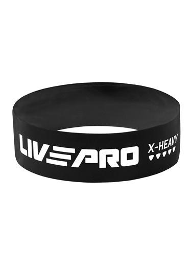 Livepro Livepro LP8412 Lateks Yüksek Sert Egzersiz Bandı Siyah